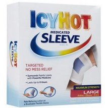 Pain Relievers: Icy Hot Medicated Sleeve