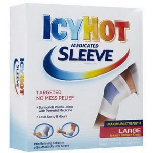 Icy Hot Maximum Strength Medicated Sleeve, Large, 3 Count Box