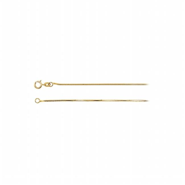 FineJewelryVault UBCH502Y14 0.75 mm 14K Yellow Gold Diamo...