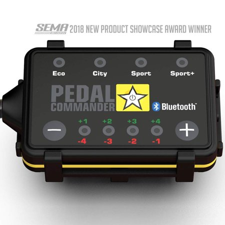 Pedal Commander Throttle Response Controller PC65 Bluetooth for Chevrolet Silverado 2007-2018 (Fits All Trim Levels; 1500, 2500HD, 3500HD, WT, LS, Custom, LT, LTZ, High Country) ()