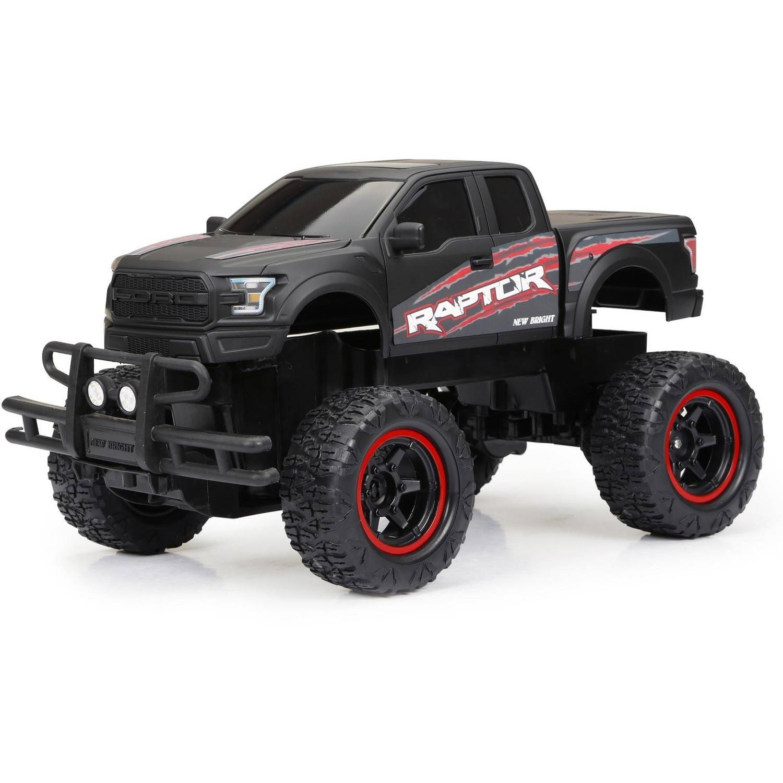 1:14 R/C Full-Function 6.4V Wheelie Raptor, Black
