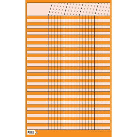 CHART INCENTIVE SMALL ORANGE - Incentive Chart