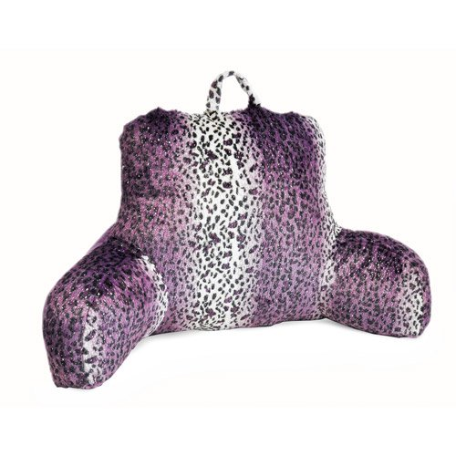Your Zone Faux Fur Backrest