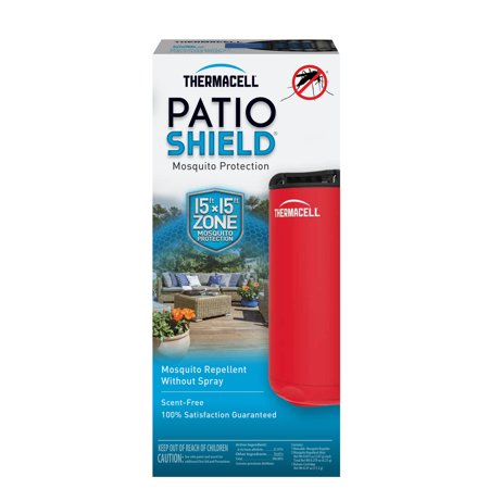 Patio Shield Mini Mosquito Repeller Fiesta Red - Thermacell