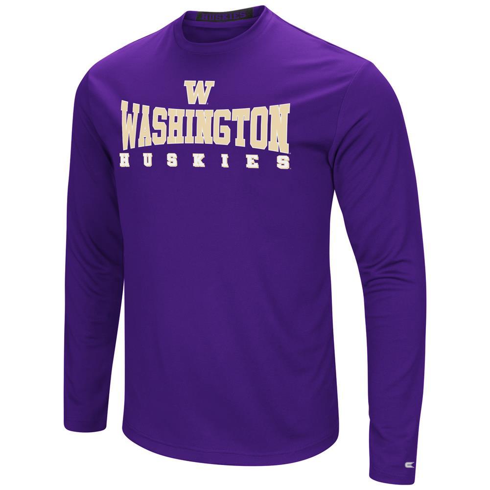 University of Washington T-Shirt Performance Long Sleeve Shirt