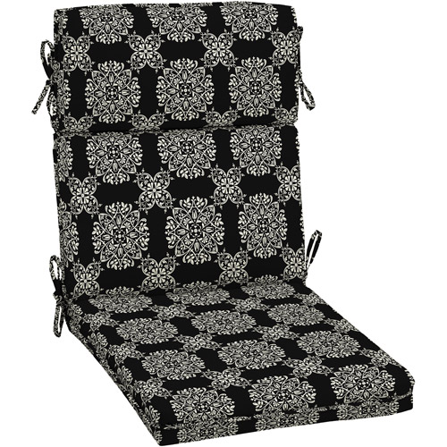 patio dining chair cushions. Better Homes And Gardens Outdoor Dining Chair Cushion With Welt Black White Medallion Patio Cushions O