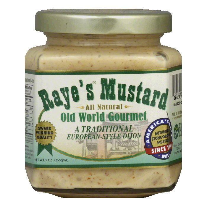 Rayes European-Style Dijon Mustard, 9 Oz (Pack of 6)
