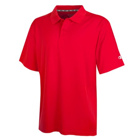 f5fc8f405 Champion - H131 Double Dry Mens Solid-Color Polo Shirt Size 2 XL ...