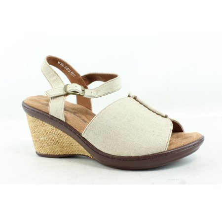 Walking Cradles Womens Lucca Natural Sandals Size 6 (C,D,W)
