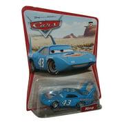 Disney Pixar Cars The King Desert Die-Cast Mattel Blue Toy Car #47