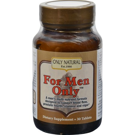 Natural Viagra - Only Natural For Men Only Formula - 30 Tablets