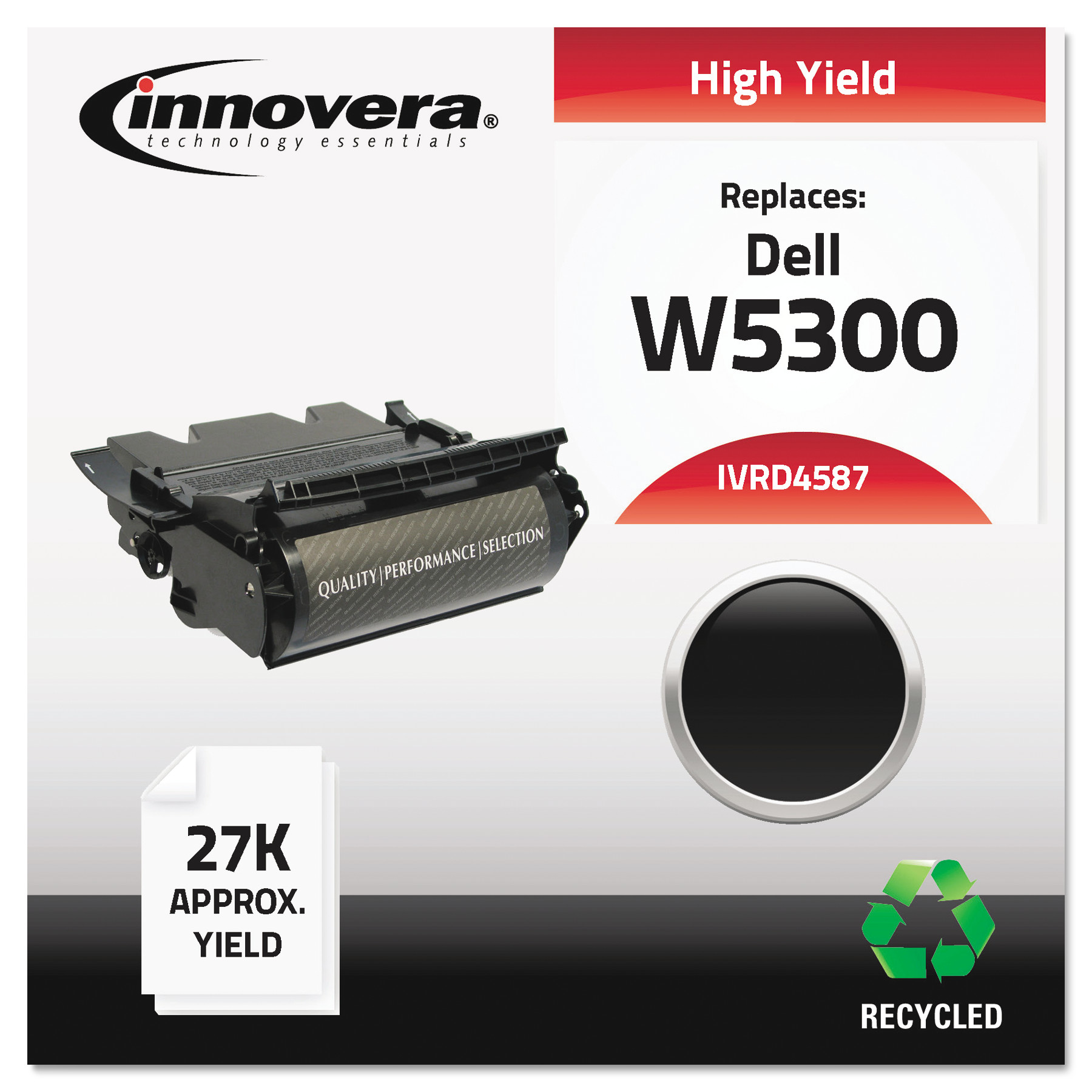 Innovera Remanufactured 310-4548 (4587) High-Yield Toner, Black