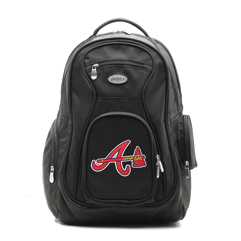 Atlanta Braves MLB Laptop Travel Backpack