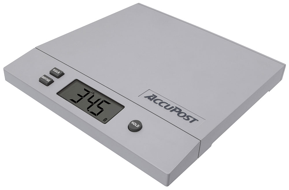 70 LB AccuPost Postal Scale w  USB Port & Software Accupost# PP-70N by Measurement Limited