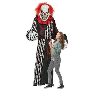 Men's Giant Towering Terror Clown or Grim Reaper Inflatable Adult Costume