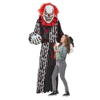 Mens Giant Towering Terror Clown Inflatable Adult Costume Deals