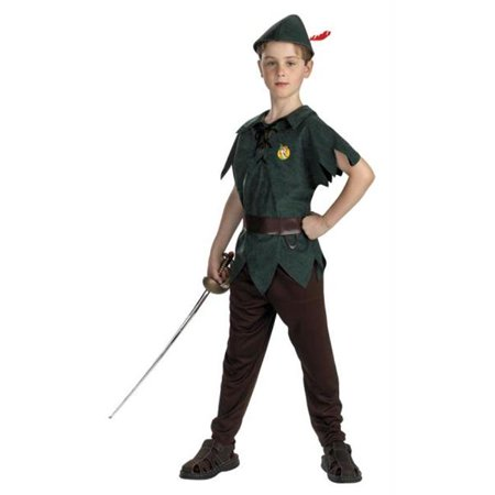 Costumes For All Occasions DG5963L Peter Pan Classic 4-6 - Peter Pan Coustume