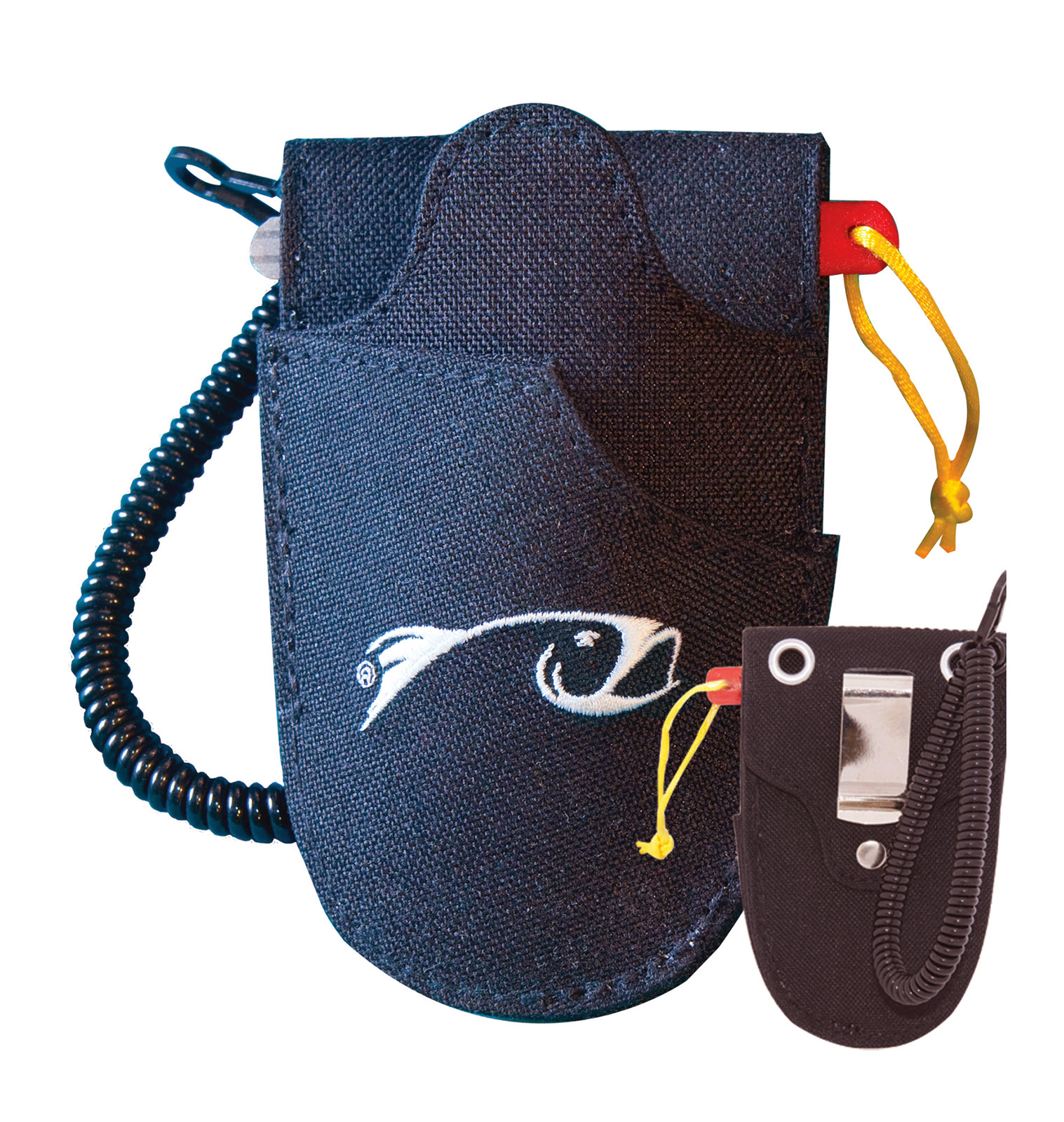 Rising Fly Fishing Tool Holster With Diamond Hook File and Coil Leash
