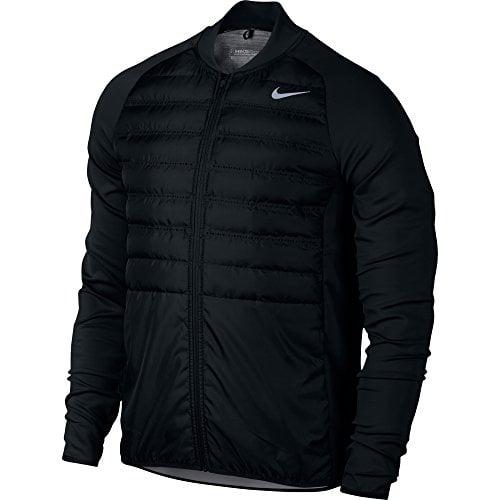 Nike AeroLoft Hyperadapt Men's Golf Jacket, Black, Large