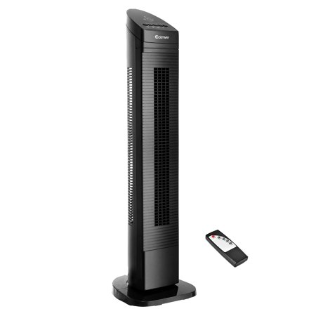 Costway 35'' Tower Fan Portable Oscillating Cooling Bladeless 3