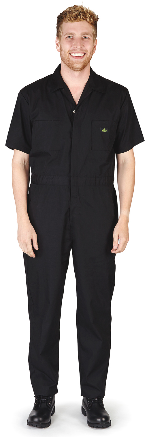 Natural Workwear Mens Short Sleeve Basic Blended Work Coverall Includes Big & Tall Sizes 7... by