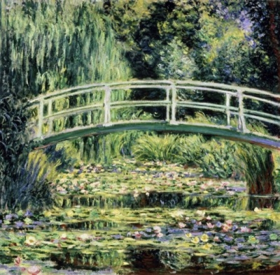 The White Water Lilies 1899 Claude Monet Oil on canvas Pushkin Museum of Fine Arts Moscow Poster Print