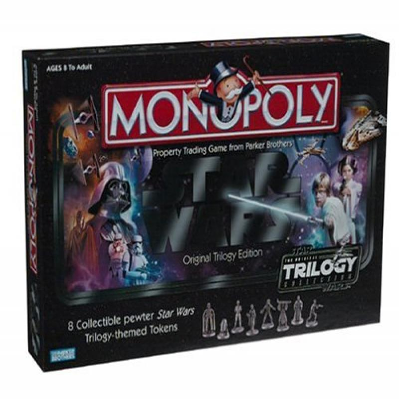 Monopoly Star Wars Original Trilogy Edition by Parker Brothers