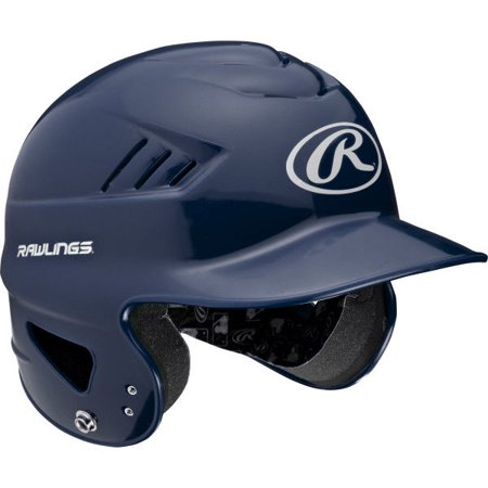 Rawlings Coolflo Youth T-Ball Helmet, Navy Blue