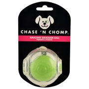 """2.5"""" Amazing Squeaker Ball by Chase 'n Chomp"""