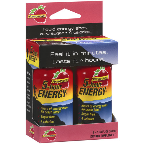 5-Hour Energy Pomegranate Dietary Supplement, 2ct