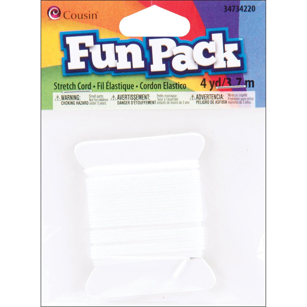 Cousin Fun Pack Stretch Cord, 4yd