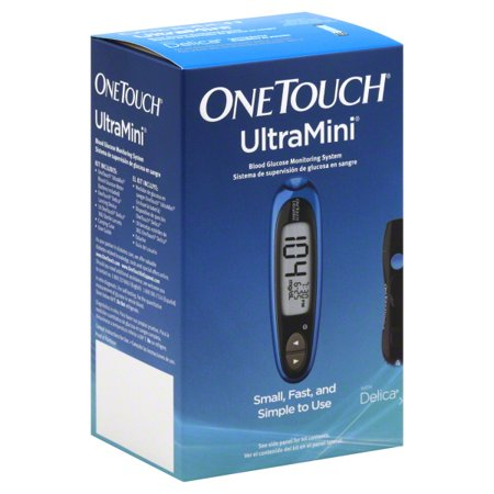 OneTouch Ultra Mini Glucose Monitoring System Blue Comet 1 Each