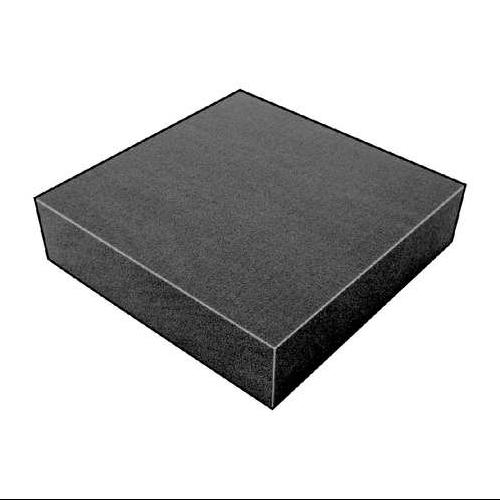 5GCP0 Foam Sheet, 300135Poly, Charcoal, 3/4x12x12