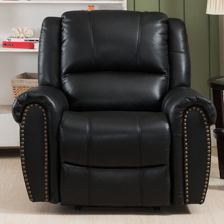 Image of Amax Houston Leather Recliner