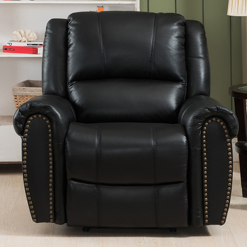 Amax Houston Leather Recliner