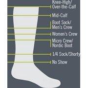 Darn Tough Vermont Thermolite Over-The-Calf Padded Cushion Ski Socks - Men's Gray/Swedish, L