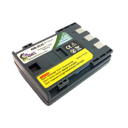 Compatible Canon NB-2L Battery - Compatible for Canon NB-2LH Digital Camera Battery (1800mAh, 7.4V, Lithium-Ion) - image 1 de 3