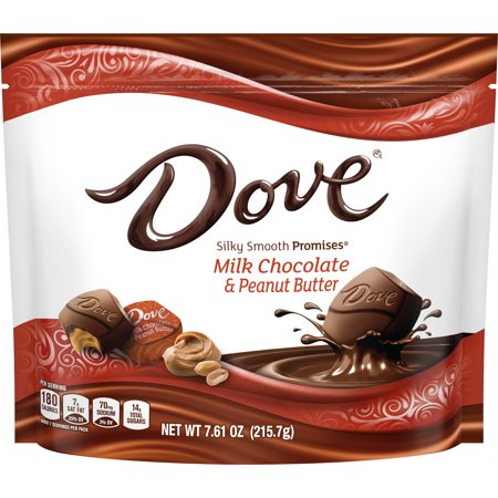 Dove Promises, Peanut Butter And Milk Chocolate Candy, 7.61 Oz.
