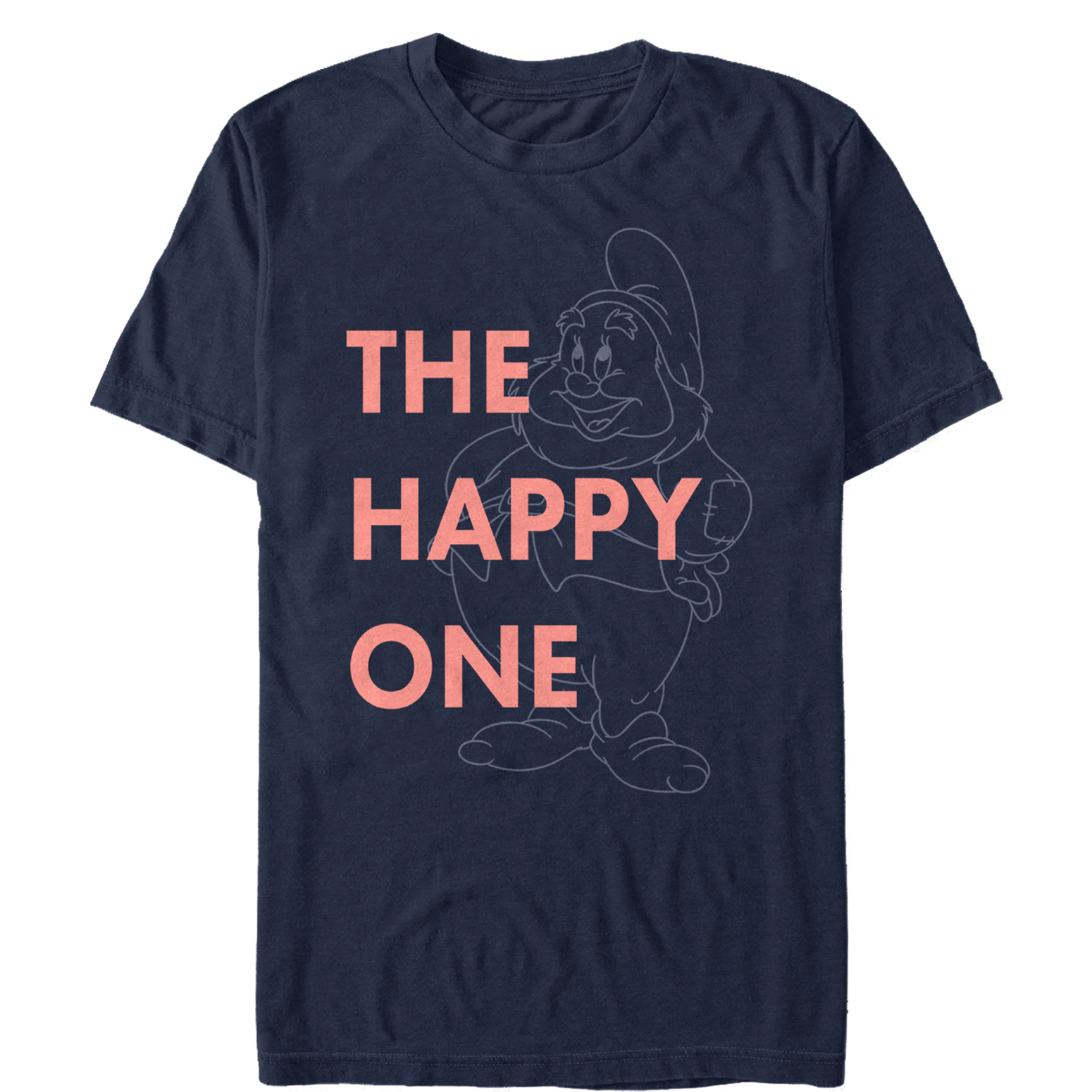 Snow White and the Seven Dwarves Men's Happy One T-Shirt