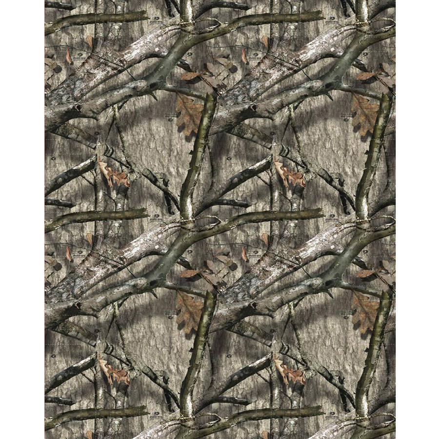 "Mossy Oak Tree Stand Multi-Colored Fleece Fabric by the Yard, 59/60"" Width"