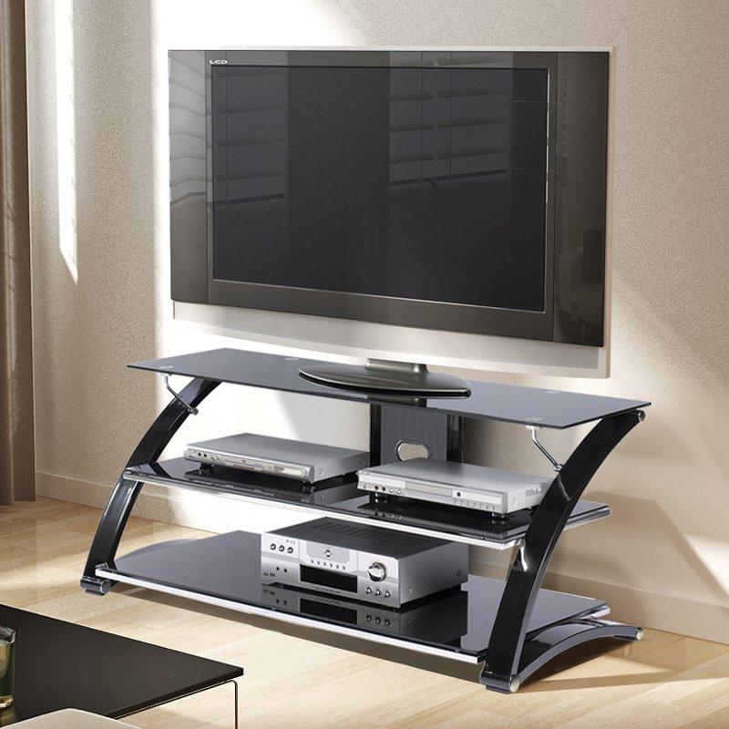 Z Line Vitoria Tv Stand With Optional Mounting Kit Black Walmart Com