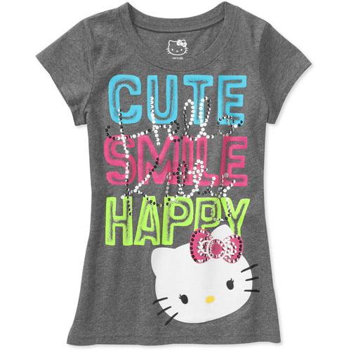 Hello Kitty Girls' Short-Sleeve Graphic Tee
