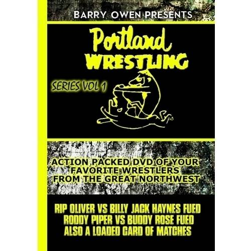 Barry Owen Presents Portland Wrestling Volume 1 (DVD) by VIDEO MUSIC, INC.