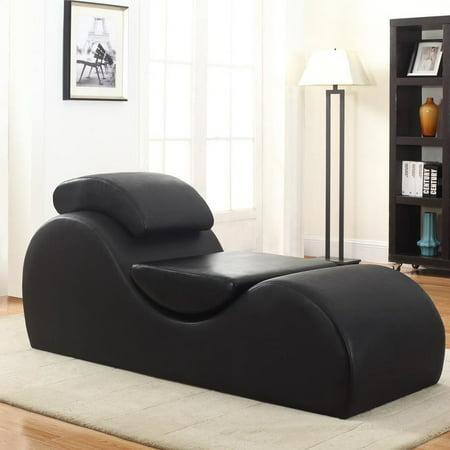 Chaise Lounge Chair.Quiroz Chaise Lounge Yoga Chair Walmart Com