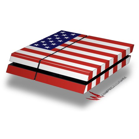 Usa American Flag 01   Decal Style Skin Fits Original Ps4 Gaming Console By Wraptorskinz