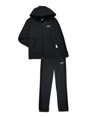 Hind Boys Full Zip Sweatshirt and Joggers 2-Piece Active Set, Sizes 8-20