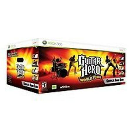 Xbox 360 Guitar Hero World Tour Band Bundle (Guitar Hero World Tour Cheats Xbox 360)