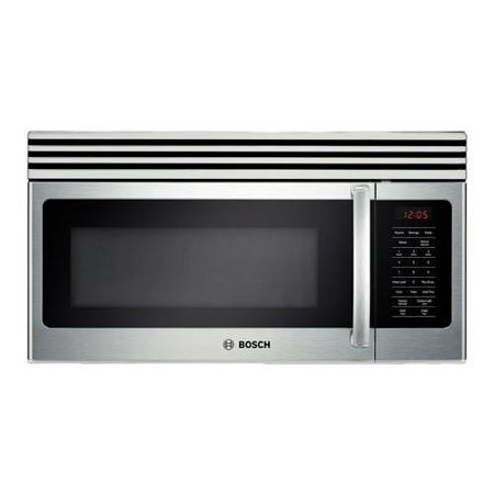 HMV3051U 300 Series 30 1.6 cu. ft. Capacity Over-The Range Microwave Oven 1000 Watts 10 Microwave Power Levels Automatic Shut Off and LCD Display in Stainless Steel