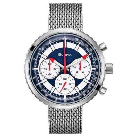Bulova Men's Archive Series High Performance Quartz Chronograph Watch 96K101