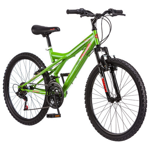 Pacific Cycle Boy's Exploit Front Suspension Mountain Bike